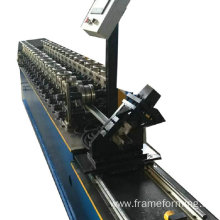 steel ceiling Slotted C Channel roll forming  machine