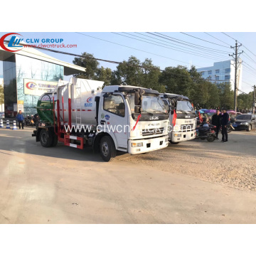 HOT SALE Dongfeng 6CBM Food Waste Hauling Truck