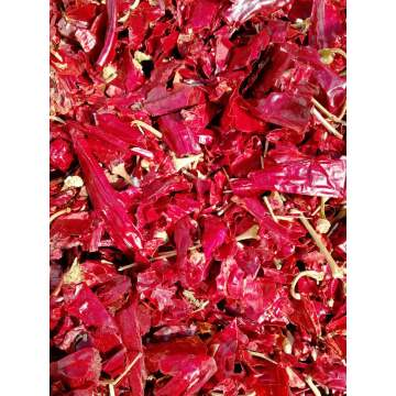 180-200ASTA Dried Red Chopped Paprika
