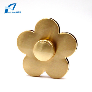Flower Shape Design Handbag Hardware Accessory Handbag Lock