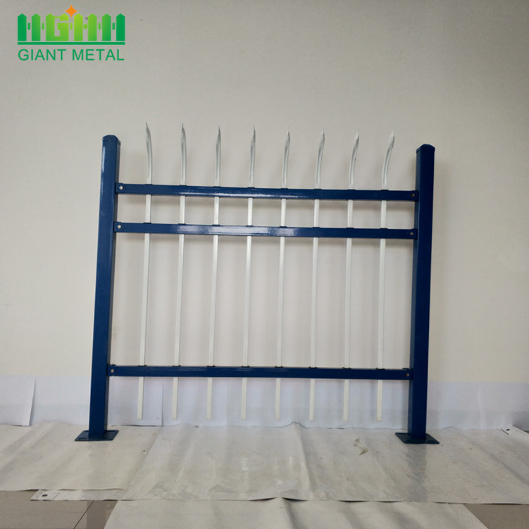 Top Quality Zinc Steel Fence With Spear Points