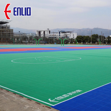 PP Outdoor Basketball Court Tile Surface