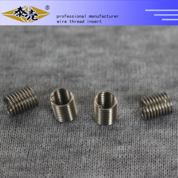 Customize any size ss304 wire tangless threaded insert