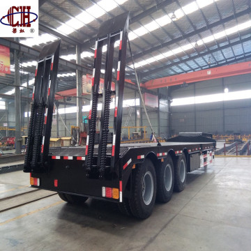 Hydraulic Extendable Gooseneck Low Bed Trailer