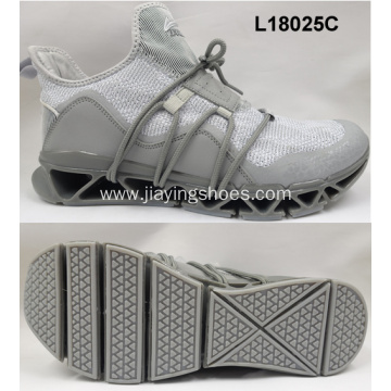 High quality fabric running men sport shoes