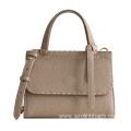Leather Commute Handbag Shoulder Tote Bag for Women