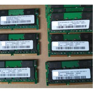 100% OK Original 144Pin Sodimm 512MB Memory SDRAM PC133 PC100 512M RAM For laptop notebook industrial mainboard 512MB sdram
