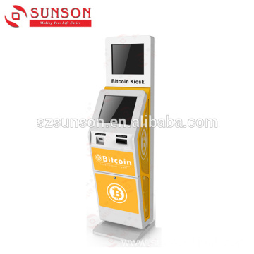 Buy and Sell Cryptocurrency Bitcoin ATM BTM Kiosk