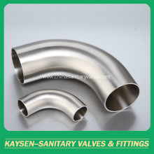 3A Sanitary Fittings 90Deg Weld Elbow With Tangent