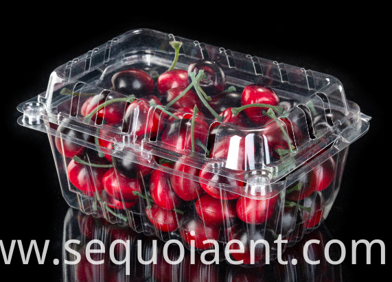 Disposable Plastic Strawberry Shipping Box