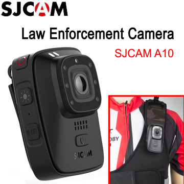 SJCAM A10 Portable Law Enforcement Camera Wearable Body Cameras IR-Cut B/W Switch Night Vision Laser Lamp Infrared Action Camera