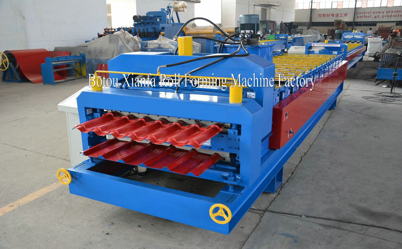 double layer forming machinery