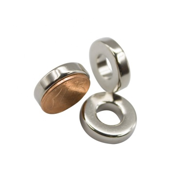 Strong sintered small ring shape permanent Magnet