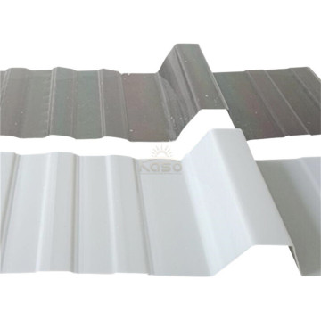 1.5Mm Clear Polycarbonate Plastic Wave Roof Sheet