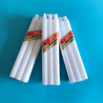 6pcs Packing Pure White Wax Candle Exporter