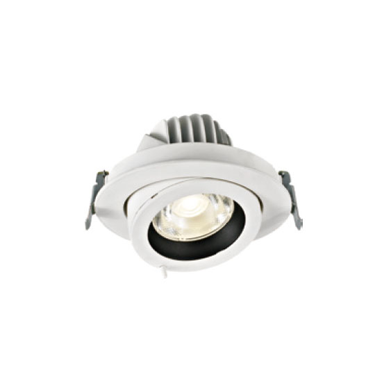 Dimmable White 30W LED Downlight