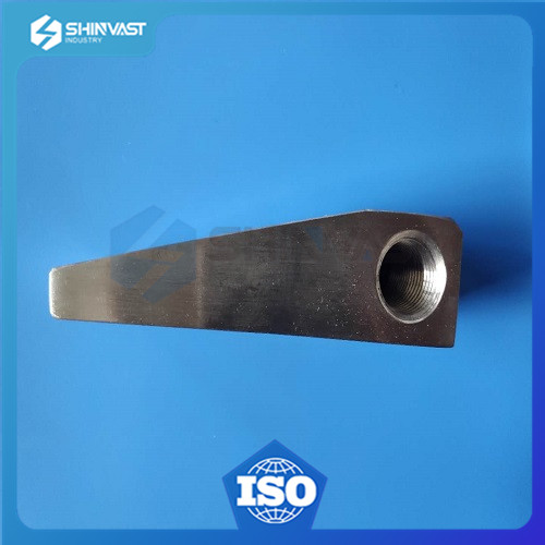 precision steel machined part