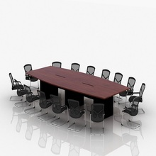 modern meeting room table