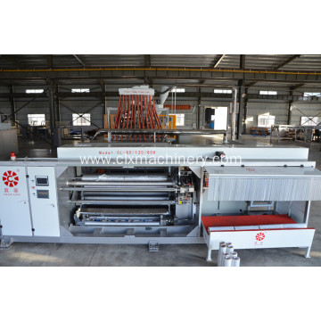 New High-Speed Four-Shafts Roll Changing Film Machine