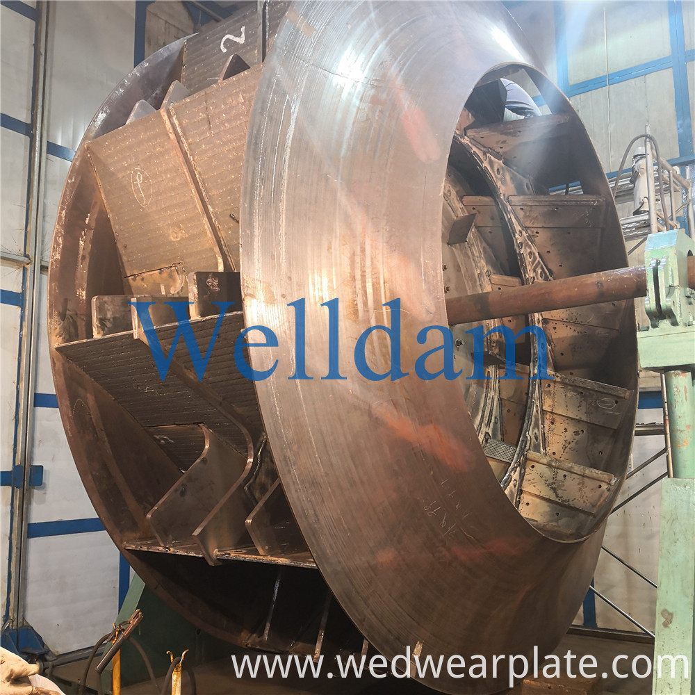 Chromium Carbide Bimetallic Wear Resistant Steel Plate 1