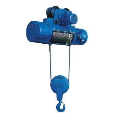 5ton mobile electric motorized wire rope hoist