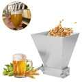 Stainless steel roller barley malt grinder grain crusher roller malt grinder self-brewed household brewing beer grinding equipme