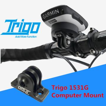 Trigo Bike TRP1531G Computer Mount Gopro Attached For Garmin Bicycle Parts