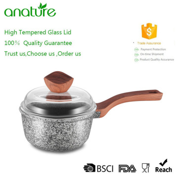Healthy Die-Cast Aluminum Granite Stone Ceramic Cookware