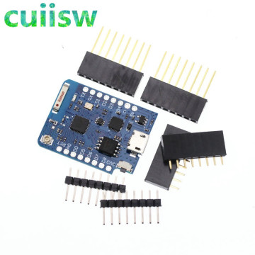 5PCS WeMos D1 Mini ESP8266 WIFI Module Board Pro 16M Bytes External Antenna Contor ESP8266 WIFI IOT Development Board Micro USB