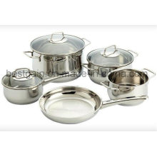 High Quality 8PCS Cookware Set Kitchenware