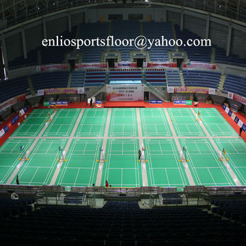 Indoor PVC badminton floor badminton court floor