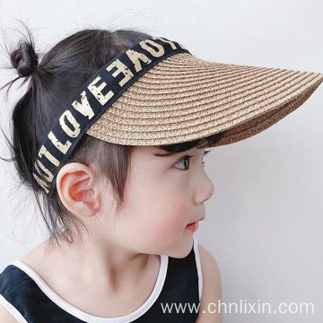 Kids sun visor cap outdoor hat