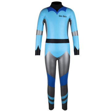Seaskin Kids Cosplay Cartoon Blue Dive Wetsuits