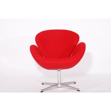 Designer Cashmere Swan Chair by Arne Jacobsen