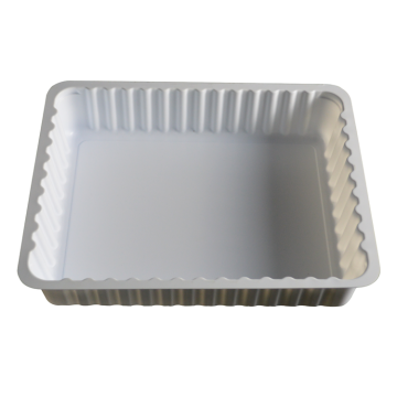 surgical device vacuum forming white disposable plastic tray
