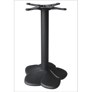 Flower Shape Design Metal Table Base