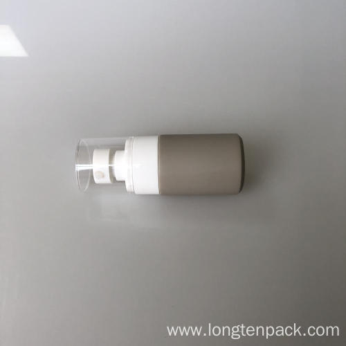 50ml HDPE bottle with lotion pump