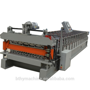 Double Layer Color Steel Panel Roll Forming Machine