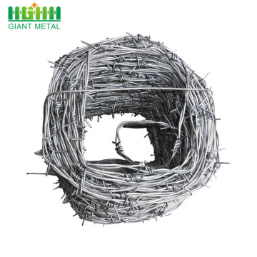 14 gauge galvanized barbed wire plastic barbed wire