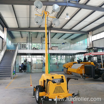 Trailer Type LED Telescopic Mobile Light Tower FZMTC-1000B