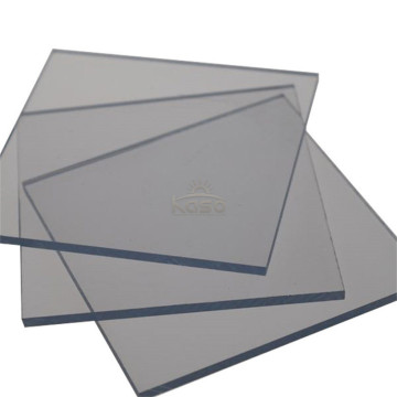 Thin Panel Sunshade Roof Polycarbonate Solid Uv Sheet