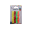 Wholesale Birthday Party Colorful Spiral Wax Candles