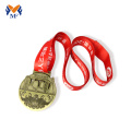 Running a half marathon training sports medal