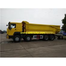 25 Ton 8x4 Sealed Garbage Dump Trucks