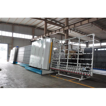 Insulating double glass fabrication machine with CNC