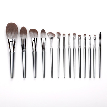 Luxury soft brush vegan makeup brushes set OEM