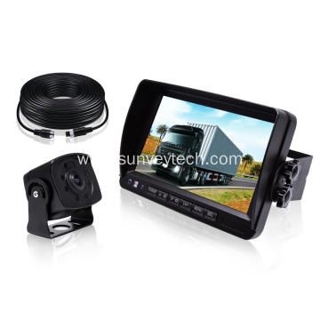 Vehicle Safety Backup Camera Kit with Monitor