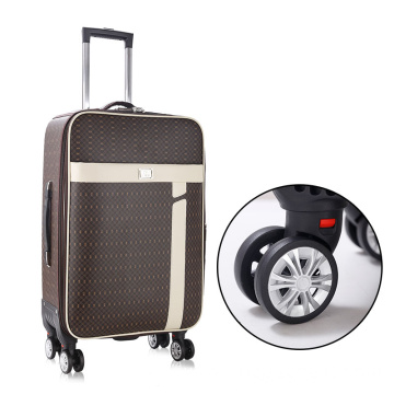 Cheaper price brand luggage with retractable wheels