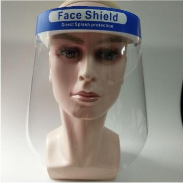 Medical direct splash protection face shield