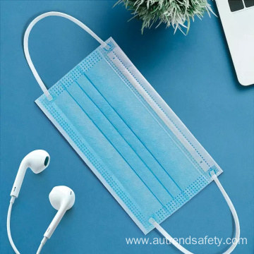 Medical disposable blue breathable face mask